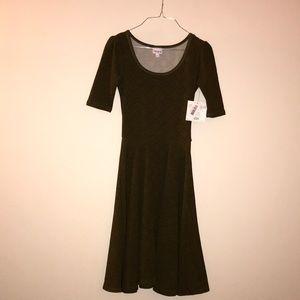 NWT Nicole Patterned Dress